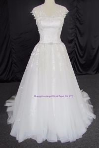 Slim and Popular Wedding Dress Bridal Gown Dress pictures & photos