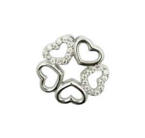 925 Sterling Silver Multiple Heart Pendant pictures & photos