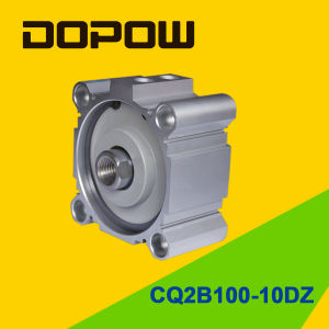 Dopow Series Cq2b100-10 Compact Cylinder Double Acting Basic Type pictures & photos