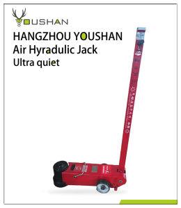 Pneumatic 80 Ton Capacity Hydraulic Floor Jack pictures & photos
