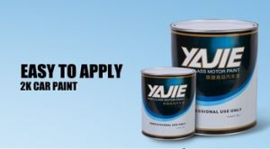 Yajie Brand 1k Solid Car Paint Manufacturer pictures & photos