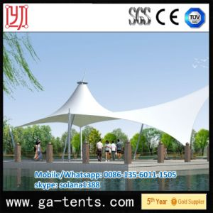 Outdoor 1100g/Sqm PVDF Cover Awning Tent for Landscape pictures & photos