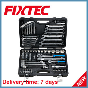 Fixtec Hand Tools Hardware 76PCS CRV Car Repair Wrench Kit Socket Tool Set pictures & photos