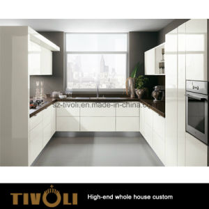 New Kitchen Cabinet Design Gloss White Kitchen Furniture (AP134) pictures & photos