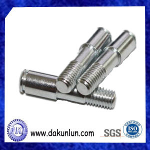 Custom Precision CNC Machining Carbon Steel Knurled Shaft pictures & photos