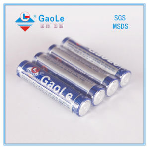 AAA 1.5V R03 Zinc Chloride Battery (Mercury free) pictures & photos
