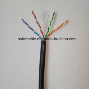 High Quality UTP CAT6 Cable with Dual Jacket (outdoor) RoHS pictures & photos