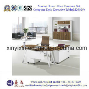 Metal Leg Office Table Melamine Office Furniture From China (M2602#) pictures & photos