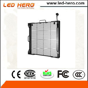 Light Weight with Handle P3.9-7.8mm Transparent Rental LED Display Indoor