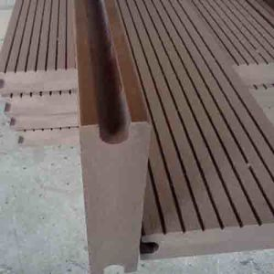 Wood&Plastic Composite Decking (WPC Decking) pictures & photos