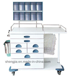 Sjt094 Luxurious Anesthesia Cart