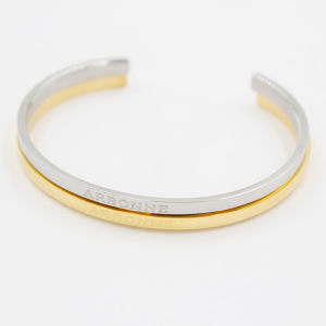 Engraved Stainless Steel Cuff Bracelet for Inspiration Jewelry pictures & photos