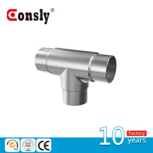 Stainless Steel Handrial 180 Degree Flush Angle with Tee pictures & photos