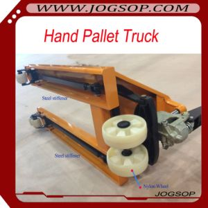 Hand Scissor Lift 3t Casting Pump Hand Pallet Truck pictures & photos