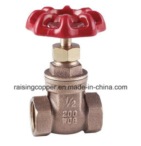 Bronze Gate Valve with Wheel Handle pictures & photos