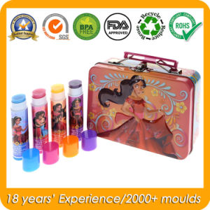 Metal Tin Gift Box with Handle for Fruit Lip Balm pictures & photos