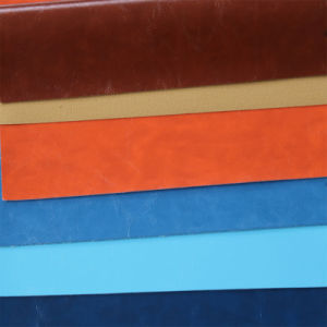 Artificial PU PVC Synthetic Leather for Furniture Handbag Shoe pictures & photos