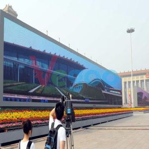 Outdoor Advertising P6 Full Color LED Display Cabinet for LED Video Wall pictures & photos