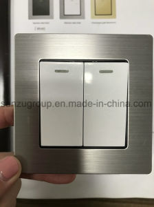 BS Style Aluminum Wall Switch WiFi Wireless Router pictures & photos