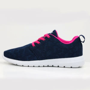 Mens Good Quality Mesh Lace up Sport Shoes Jogging Shoes pictures & photos