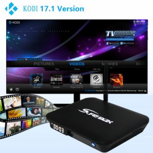 E9 Android TV Box 2+16GB Amlogic S912 Octa Core Set Top Box Dual Band WiFi HD 4k Player Kodi17.1 Android 6 OS pictures & photos