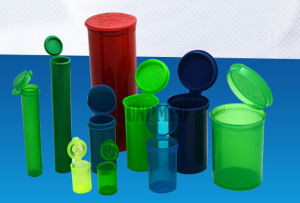 Pop Top Vials Child-Resistant FDA Qualified Material Pill Bottle pictures & photos