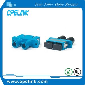 Fiber Optic Adapter Duplex  for Cable TV Network/Optical   Fiber LAN pictures & photos