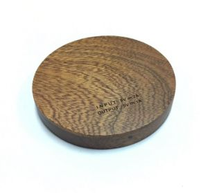 China Hot Consumer Electronic Wooden Products Wireless Charger for Phone Battery pictures & photos