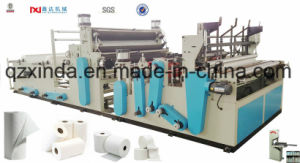 Towel Paper Roll Rewinding Perforating Making Machine pictures & photos