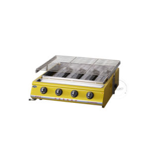 Commercial Restaurant Equipment Portable Table Gas BBQ Grill Machine pictures & photos