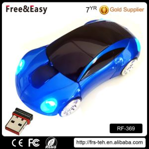 RF 2.4GHz Wireless USB Computer Car Shaped Mouse pictures & photos
