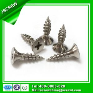 Flat Contersunk Head M4*16 Stainless Self Tapping Screw pictures & photos