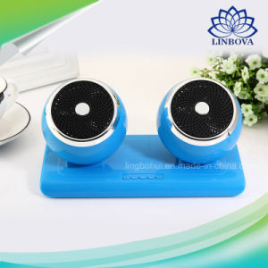 High Sound Quality Bluetooth 2.1 Wireless Computer Speaker Box with TF and USB pictures & photos