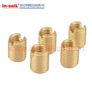 L3080 M10 Brass Self Tapping Thread Insert Nut for Metal pictures & photos