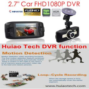 "2016 Sale 2.7"" Car Black Box FHD1080p Dash Car DVR with 3.0mega Aptina Ar0330car Camera, Ntk96650 Car Digital Video Seamless Loop Recorder, WDR, Parking Control pictures & photos"