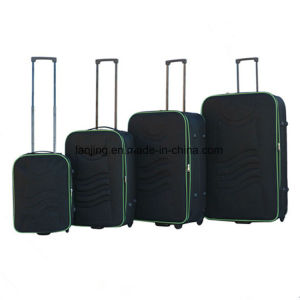 Ultra Light Weight Soft-Side 4-PCS Rolling Luggage Set pictures & photos