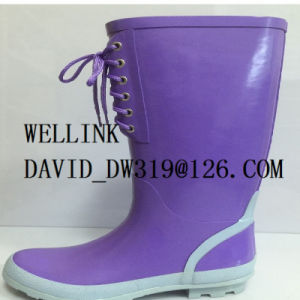 New High Quanlity Ladies Rb Rainboot with Adjustable Strap pictures & photos