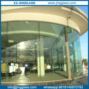Clear Curved Bent Tempered Toughened Glass for Building pictures & photos
