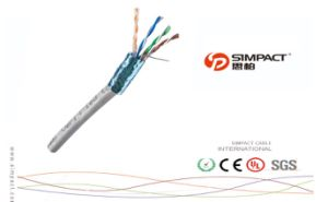 UV Resistant Outdoor Bulk Cable&Direct Burial FTP Cat5e Gel Filled (Flooded core) pictures & photos