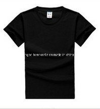 Custom Black Cotton Short Sleeves Promotional T Shirt pictures & photos
