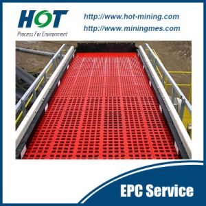 Hot Sale PU Vibrating Screen Mesh Screen Panel pictures & photos