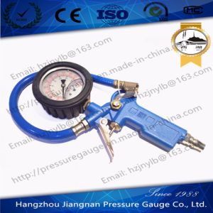 60mm 2.5′′ Oil Filled Tire Pressure Gauge-Tire Pressure Gun pictures & photos