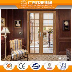 Weiye New Product Antique Aluminium Extrusion Profile Aluminium Door pictures & photos