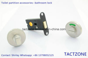New Design Toilet Bathroom Cubicle Partition Accessories 304ss Door Lock pictures & photos