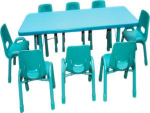 Kindergarten Furniture Children Desk and Chair for School Desk Hl1 pictures & photos