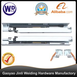 SL-2204 Cheap Tool Box Undermount Ball Bearing Roller Dtc Drawer Slides Rail pictures & photos
