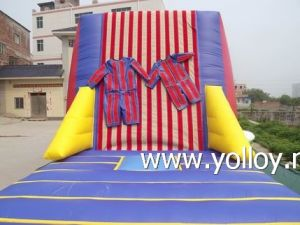Inflatable Magic Tape Wall with Magic Tape Suits pictures & photos