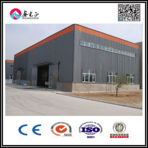 Large Span Painted Steel Structure Warehouse pictures & photos