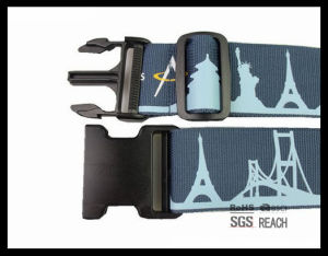 Premium Stylish Mixed Design Adjustable Snap Luggage Suitcase Belt Strap pictures & photos