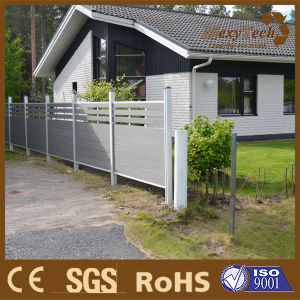 Composite Wood Garden Used Fencing for Sale, with WPC Fencing Panels pictures & photos